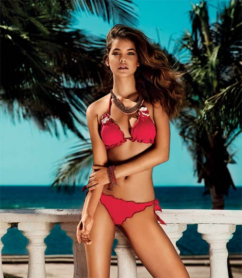 Barbara-Palvin - Twin-Beachwear-004