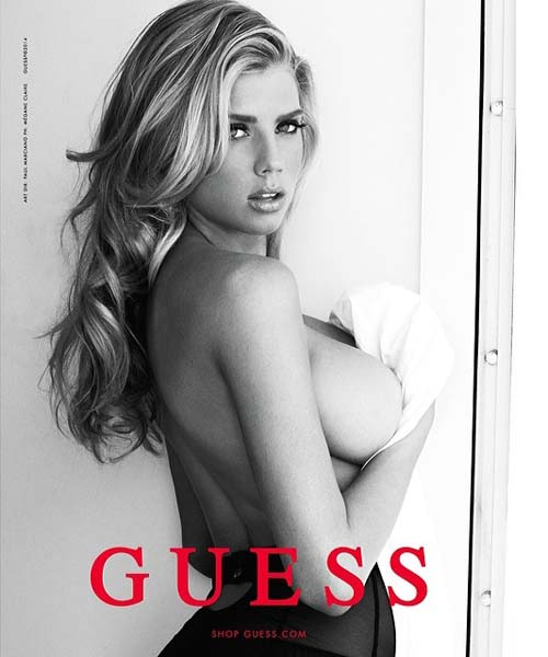 Charlotte-McKinney-Topless-Guess