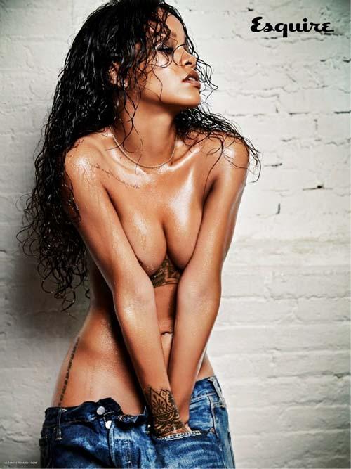 Rihanna-Nude-Esquire-December-2014
