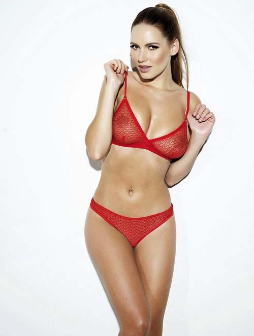 Sabine-Jemeljanova-red-lingerie