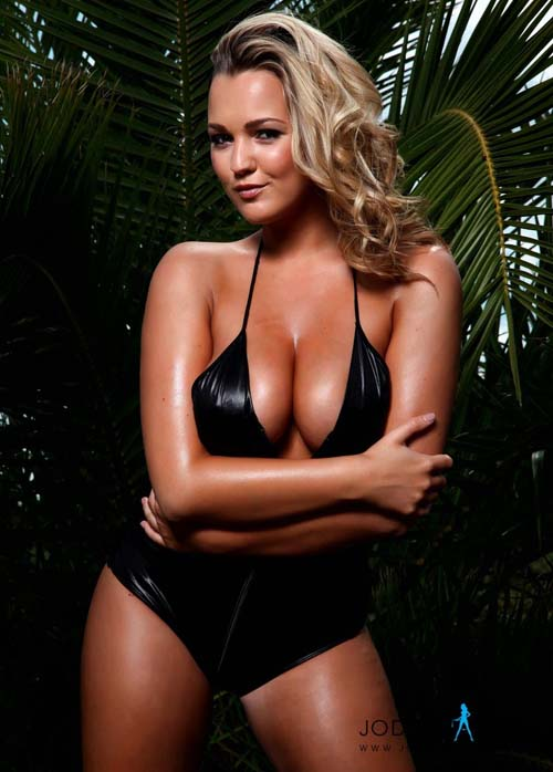 Jodie Gasson in black