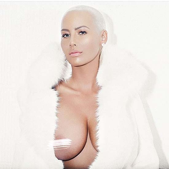 Amber Rose  Free The Nipple