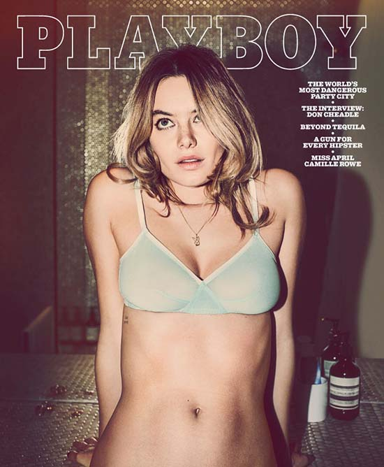 Camille Rowe Playboy 1