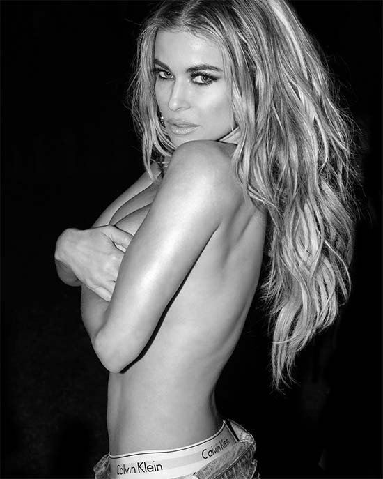 Carmen Electra Topless by Marco Ovando