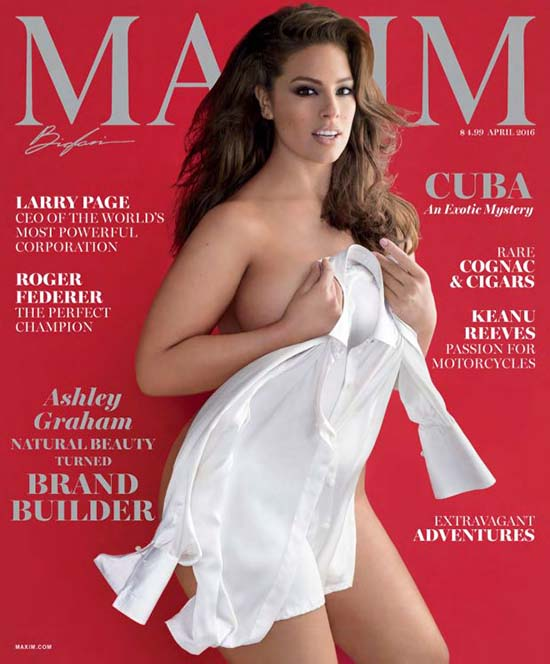 Ashley Graham Naked Maxim