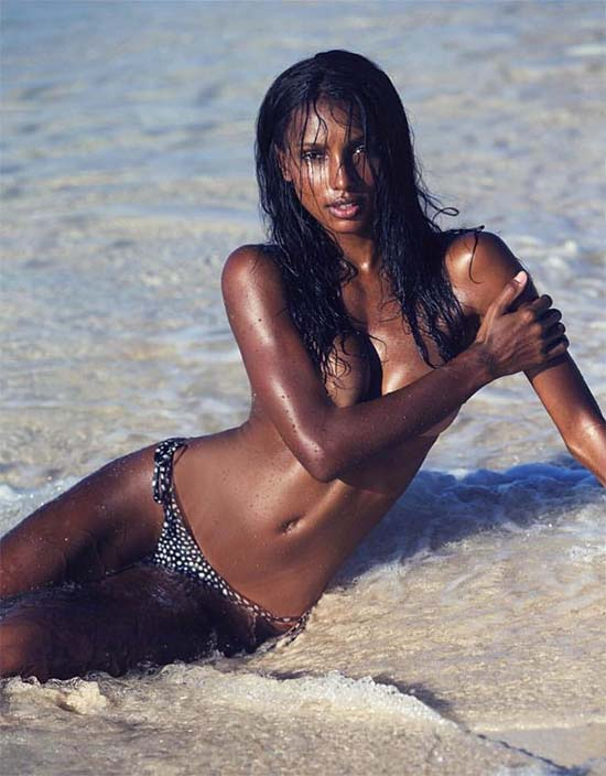 Jasmine Tookes Is a Sexy Devil