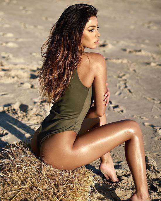 Krislian Rodriguez Reveals Her Bootylicious B@@ty