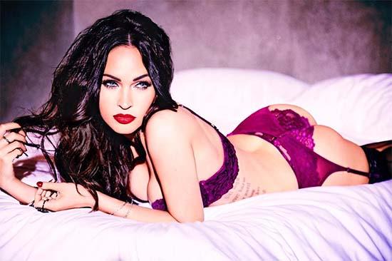 Megan Fox In Naughty Lingerie