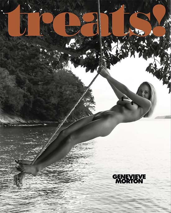 Genevieve Morton Nude Treats Magazine