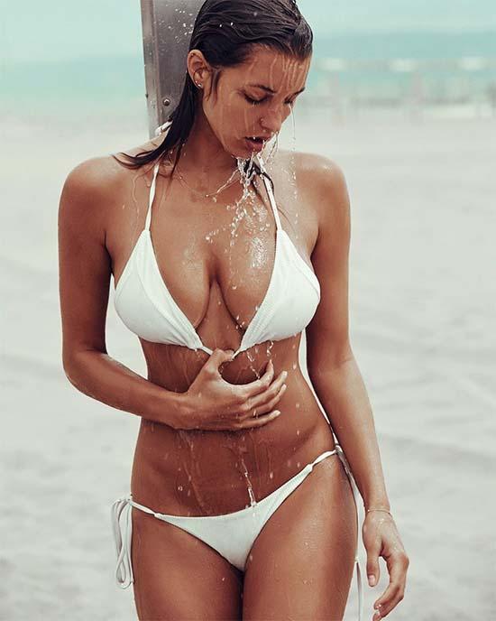 Alyssa Arce Wet Bikini