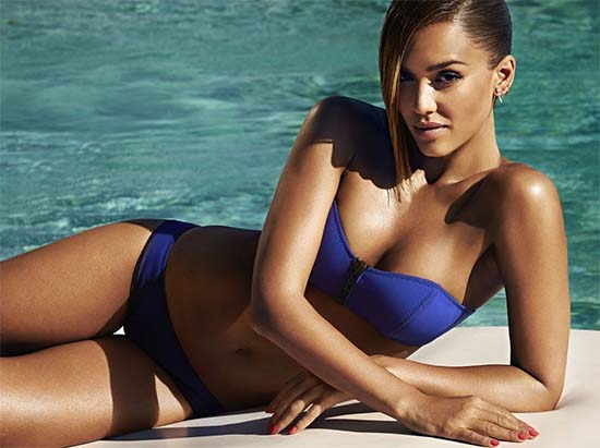 Jessica Alba for Shape Magazine