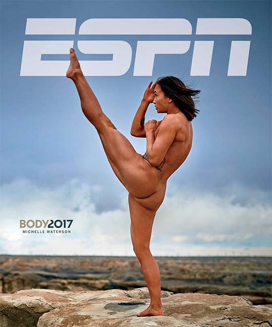 Michelle Waterson Nude