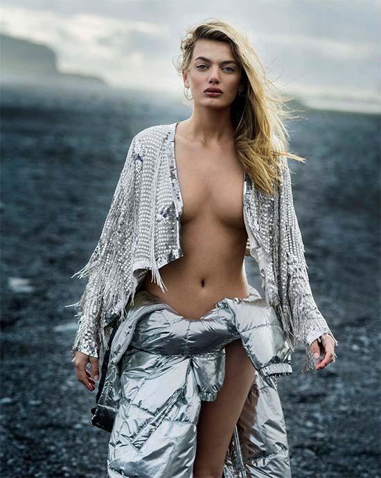 Bregje Heinen topless Maxim