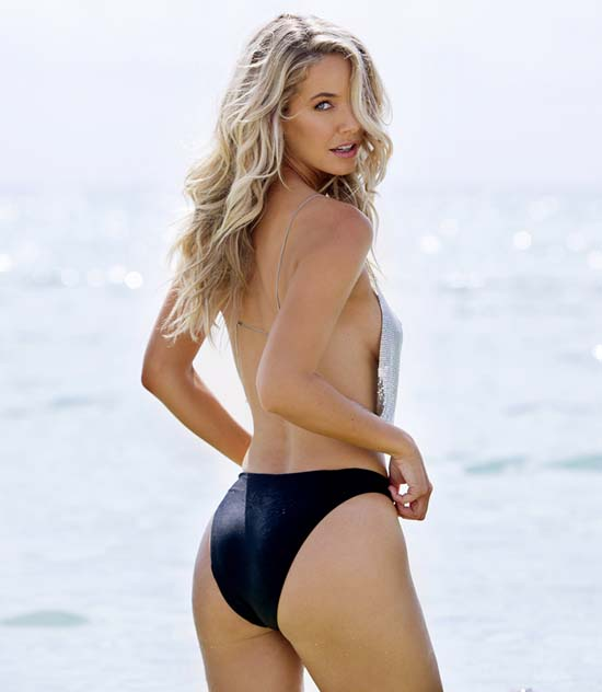 Olivia Jordan Topless SI Swimsuit