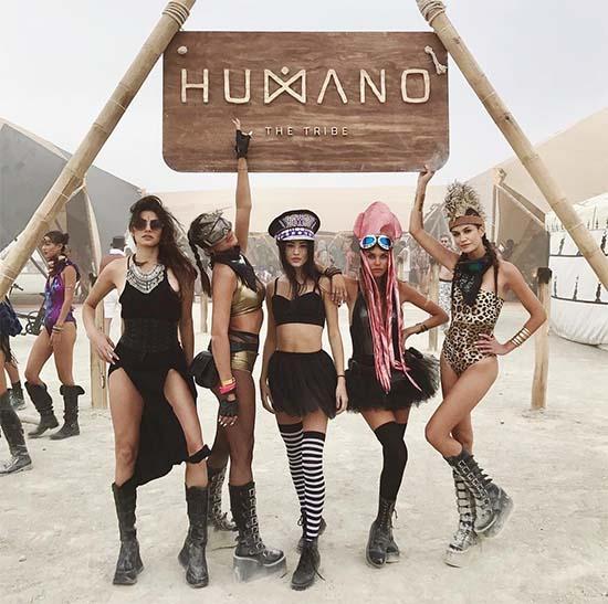 Burning Man Models