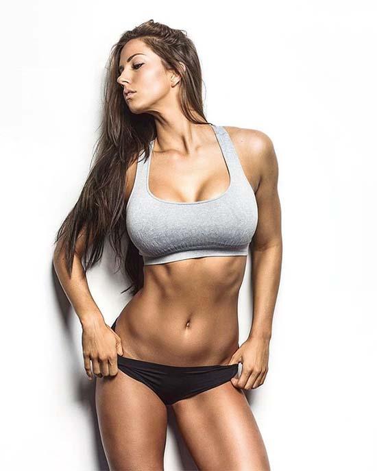 Fitness Model Janna Breslin