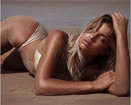 Australian model Kristina Mendonca