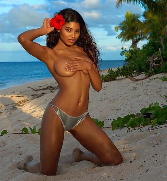 Danielle Herrington Topless