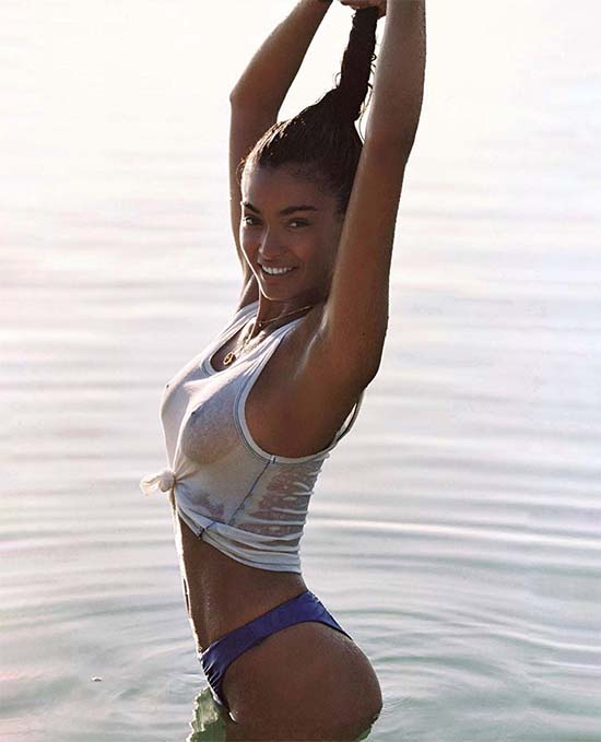 Kelly Gale Wet T-shirt