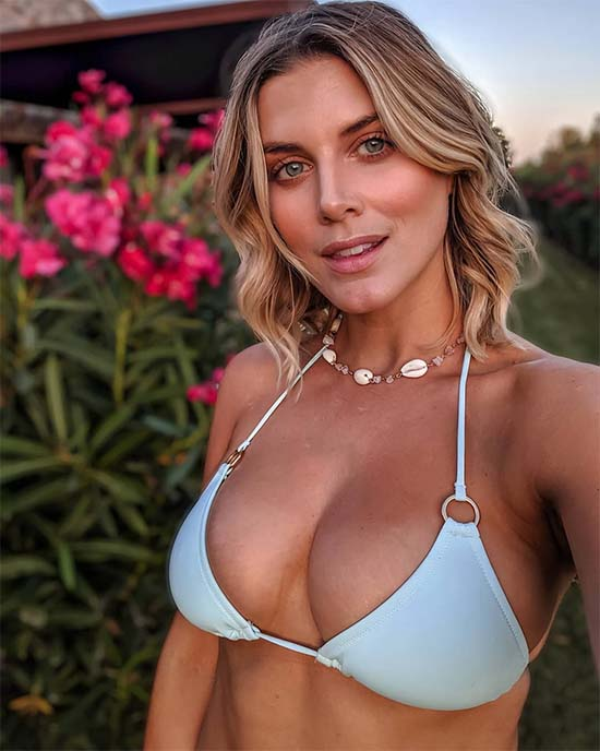 Ashley James boobs